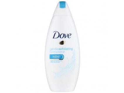 Dove Gentle Exfoliating sprchový gél 250ml