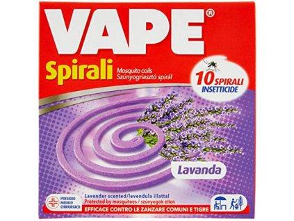 Vape špirála proti komárom levander 10 ks
