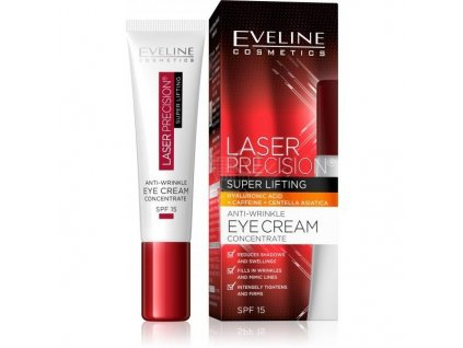 EVELINE LASER PRECISION Liftingový krém pod oči 15ml