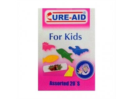 Cure Aid Kids náplasť 20ks