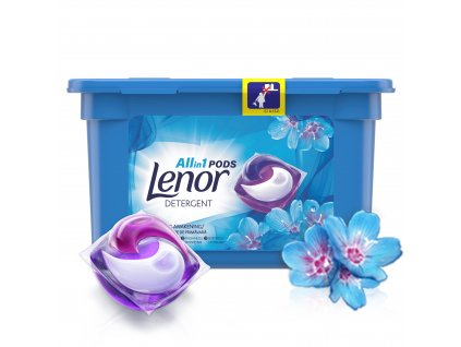 Lenor All in 1 Spring Awakening gélové kapsule 11ks