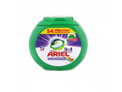 Ariel 3in1 Color gélové kapsule do prania 54ks