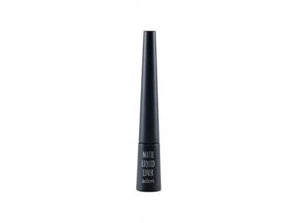 Aden Cosmetics Matte Liquid Liner linka na oči Black 2,5 ml