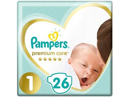 Pampers Premium Care Plienky 1 26ks (2 5kg)