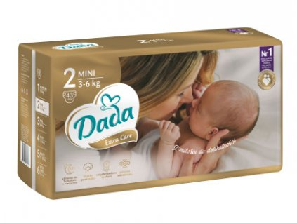 Dada Premium Extra Care Little One 2 Mini Eko plienky 43ks 3 6kg