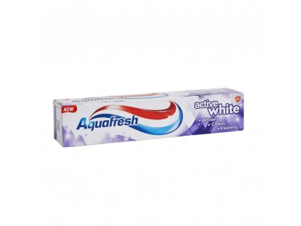 Aquafresh Active white zubná pasta 125ml