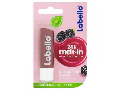Labello blackberry shine ošetrujúci balzam na pery 4,8 g