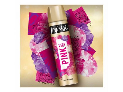 Impulse Very Pink deospray 100ml