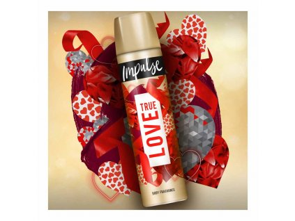 Impulse True love deospray 100ml