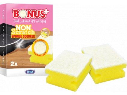 Bonus špongia na umývanie riadu bez poškriabania 2ks