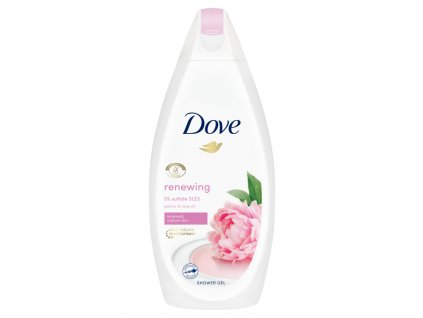 Dove Renewing Peony & Rose oil sprchový gél 500ml