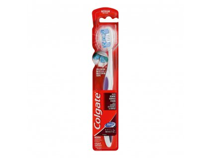 Colgate Optic White Medium zubná kefka 1ks