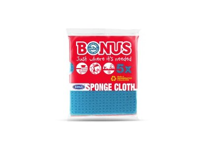 Bonus špongiová utierka rolka 5ks