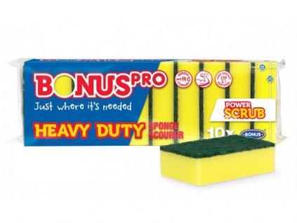BonusPRO Heavy Duty špongia na riad 10ks