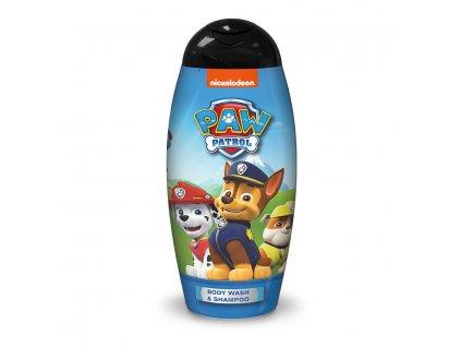 Nickelodeon Labková Patrola sprchový gél a šampón na vlasy pre chlapcov 250ml