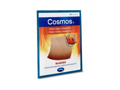 Cosmos Hrejivá náplasť s kapsaicínom KLASICKÁ 12,5x15cm