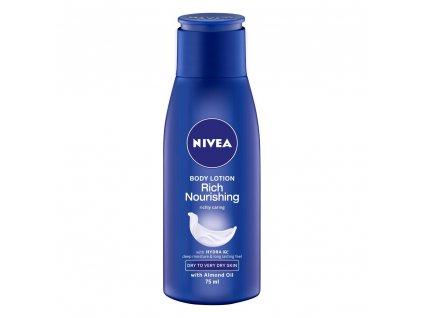 Nivea Rich Nourishing telové mlieko 75ml
