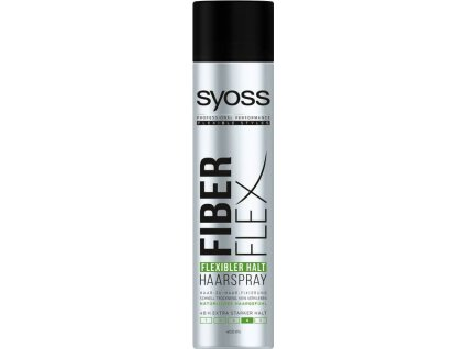 Syoss FiberFlex Flexible Hold 4 lak na vlasy 400ml