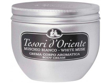 Tesori d'Oriente White Musk telový krém 300ml