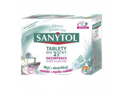 Sanytol 4 v 1 tablety do umývačky 40 x 20 g