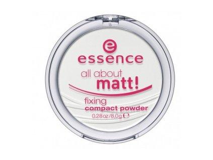 Essence All about matt! kompaktný púder s matným efektom 8g