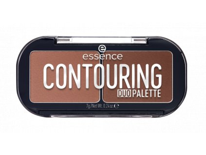 Essence Contouring Duo Kontúrovacia paletka 20 Darker Skin 7g