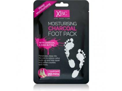 Charcoal Foot Pack hydratačná maska na nohy ponožky