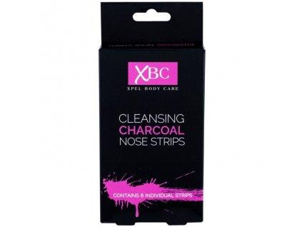 Charcoal Nose strips nosné pásky proti čiernym bodkám 6ks