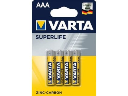 Varta Superlife AAA batéria 4ks
