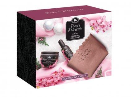Tesori d'Oriente Chinese Orchid telový krém 300ml + parfém 100ml darčekový set
