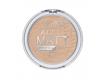 Catrice All Matt Plus kompaktný púder s matným efektom 010 Transparent 10g