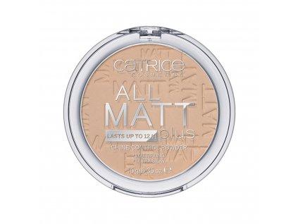 Catrice All Matt Plus kompaktný púder s matným efektom 025 Sand Beige 10g