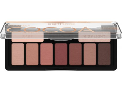 Catrice The Matte Cocoa Collection paletka očných tieňov 010 Chocolate Lover