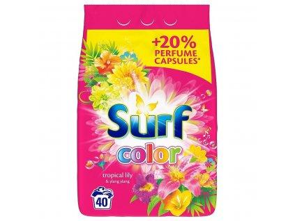 surf proszek do prania tropikalna lilia kolor26kg 8710447445303