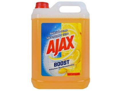 Ajax Boost Soda oczyszczona + Cytryna 5L