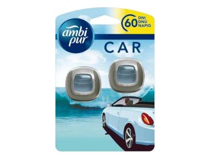 AMBI PUR Car Ocean Mist osviežovač do auta 2x2ml