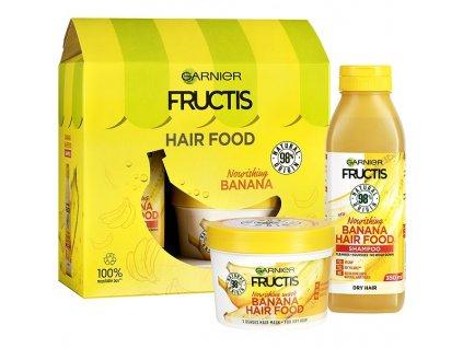 GARNIER Fructis Hair Food Banana Sada 1