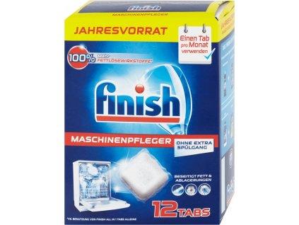 FINISH Kapsule na čistenie umývačky 12 ks 2