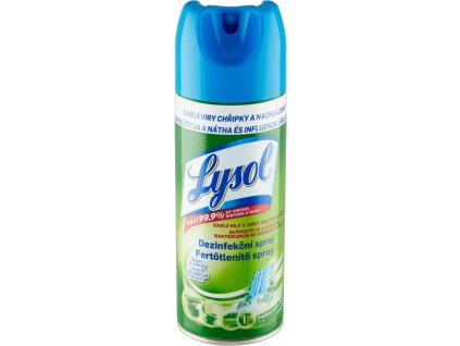 LYSOL Dezinfekčný sprej - sviežosť vodopádu 400 ml