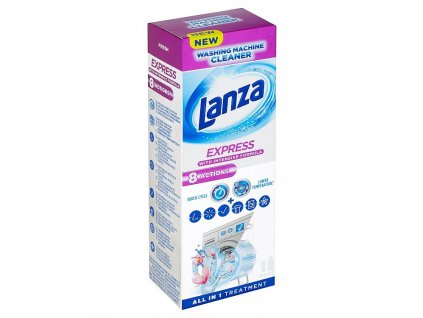 Lanza Express 8 Actions Tekutý čistič práčky
