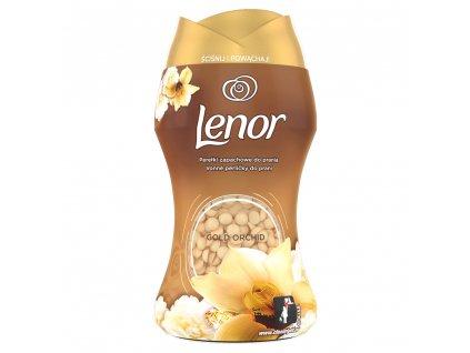 Lenor Unstoppables Gold Orchid vonné perličky do prania 140g
