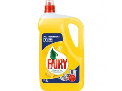 Fairy Lemon prostriedok na umývanie riadu 5l