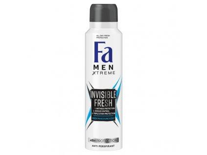 eng pl Fa Men Xtreme Invisible Fresh Antyperspirant 150 ml 108962 1