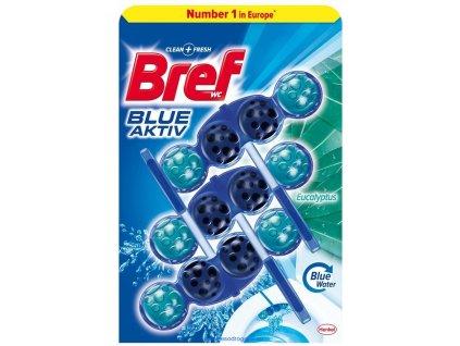 Bref Blue Active Eucalyptus WC Blok 3x50g