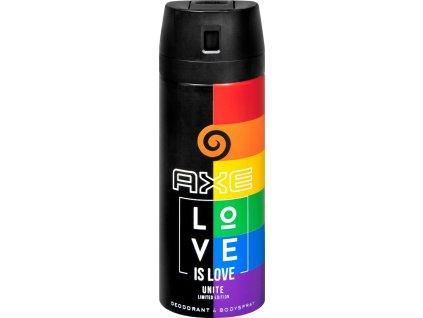 axe dezodorant v spreji love is love unite