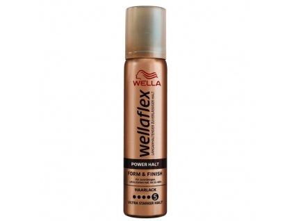 Wellaflex Form & Finish Power Halt 5 lak na vlasy 75ml