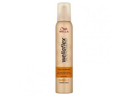 Wella Wellaflex Curls & Waves Strong Hold penové tužidlo 200 ml