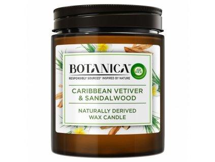 Botanica by Air Wick vôňa karibského vetiveru a santalového dreva 205 g