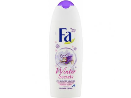 795604 fa winter secrets pecujici sprchovy krem 250 ml