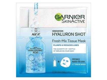 textilni maska s kyselinou hyaluronovou pro hydratovanou a vypnutou plet fresh mix tissue mask 6 g 1454921720190306120154